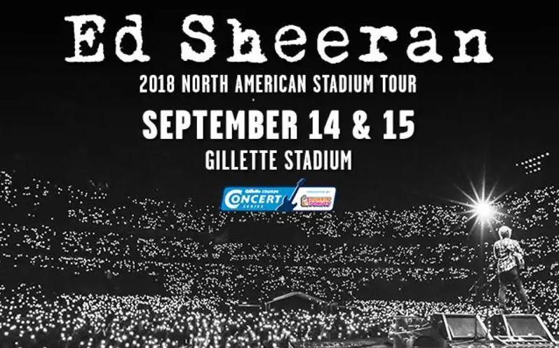 Ed Sheeran Gillette