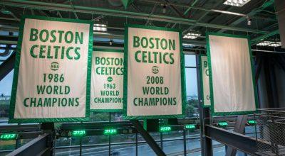 celtics banners